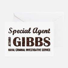 SPECIAL AGENT GIBBS Greeting Cards