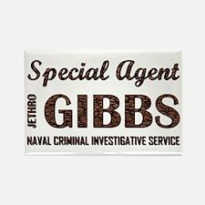 SPEC AGENT GIBBS Rectangle Magnet