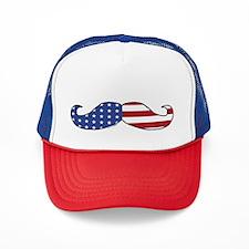 Patriotic Mustache Hat