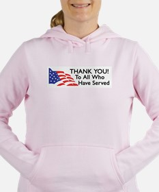 Unique Support our troops Women's Hooded Sweatshirt
