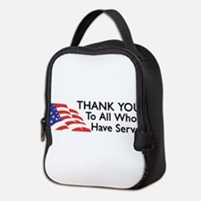 Unique Support Neoprene Lunch Bag