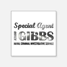 SPECIAL AGENT GIBBS Sticker