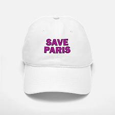 Save Paris Baseball Baseball Cap