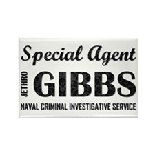 SPECIAL AGENT GIBBS Magnets