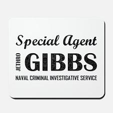 SPEC AGENT GIBBS Mousepad