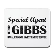 SPECIAL AGENT GIBBS Mousepad