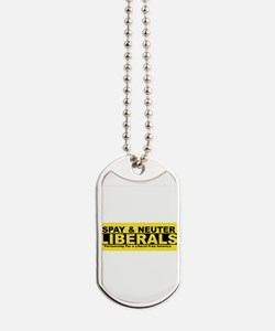 Cute Conservative Dog Tags
