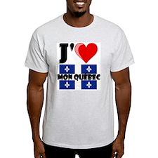 J'aime mon Quebec T-Shirt