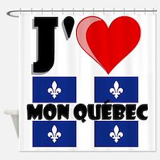 J'aime Mon Quebec Shower Curtain