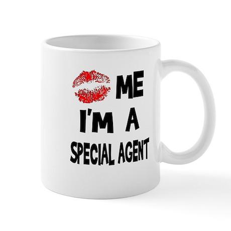 Kiss Me I'm A Special Agent Mug