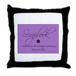 Scrapbookers - Your Life Jour Throw Pillow