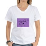 Scrapbookers - Your Life Jour Women's V-Neck T-Shi