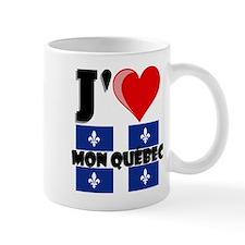 J'aime mon Quebec Mugs