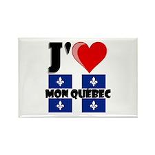 J'aime mon Quebec Magnets