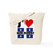 J'aime mon Quebec Tote Bag