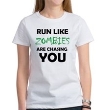 Run Like Zombies are Chasing You Tee