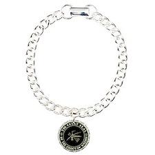 Choctaw Seal Bracelet Charm Bracelet, One Charm