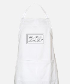 What Would Martha Do? BBQ Apron