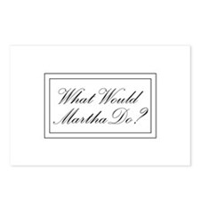 What Would Martha Do? Postcards (Package of 8)