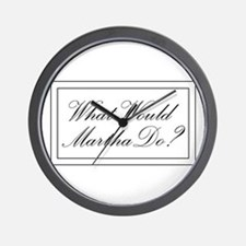 What Would Martha Do? Wall Clock