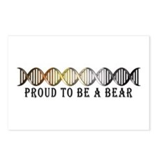 Gay Bear Pride DNA Postcards (Package of 8)
