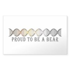 Gay Bear Pride DNA Decal