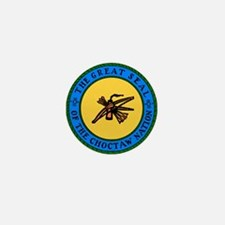 Great Seal Of The Choctaw Nation Mini Button