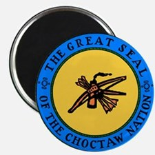 Great Seal Of The Choctaw Nation Magnets