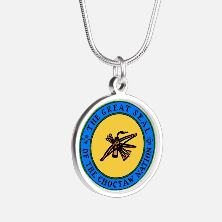 Great Seal Of The Choctaw Nation Necklaces