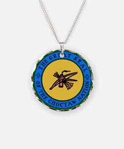 Great Seal Of The Choctaw Necklace