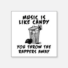 Music is Like Candy Sticker