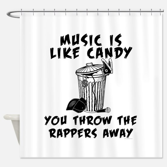 Music is Like Candy Shower Curtain