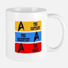 Captain Scientist Dead Mugs