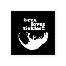 t-rex loves tickles! Sticker
