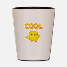 Cool Chick Shot Glass