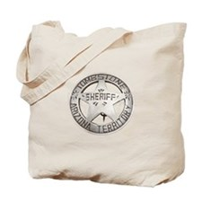 Tombstone Sheriff Badge Tote Bag
