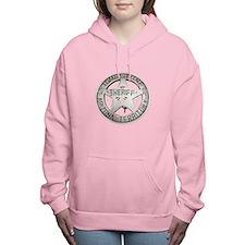 Tombstone Sheriff Badge Women's Hooded Sweatshirt