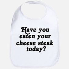cheese steak today Bib