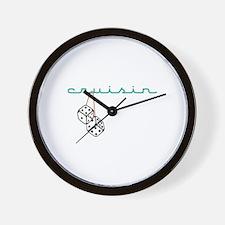 Cruisin Wall Clock