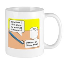 Worst Job in the World Mug Mugs