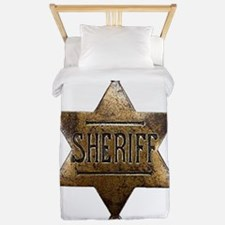 Sheriff Badge Twin Duvet