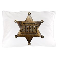 Sheriff Badge Pillow Case
