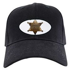 Sheriff Badge Baseball Hat