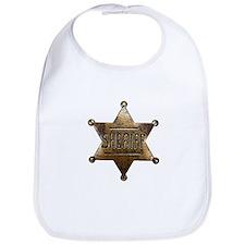 Sheriff Badge Bib