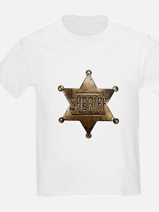 Sheriff Badge T-Shirt