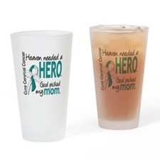 Cervical Cancer HeavenNeededHero1.1 Drinking Glass