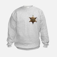 Sheriff Badge Sweatshirt