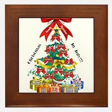 Christmas in July Framed Tile