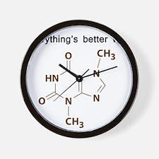 Chocolate Chemistry Wall Clock
