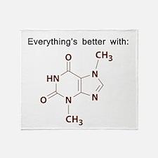 Chocolate Chemistry Throw Blanket